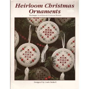 Heirloom Christmas Ornaments: Hardanger Snowflakes & Christmas Flowers