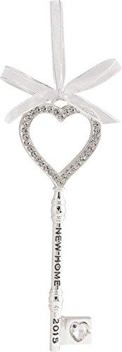 2015 New Home – Metal Key Carlton Ornament
