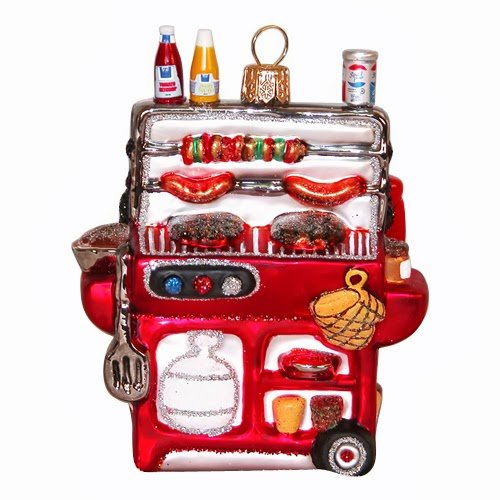 Ornaments to Remember: BBQ GRILL Christmas Ornament