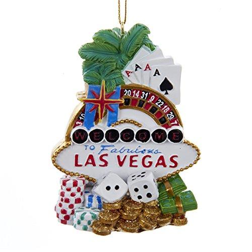 Kurt Adler Las Vegas Hanging Ornament