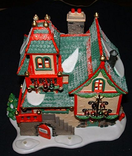 Glass Ornament Works Department 56 North Pole Series #56396