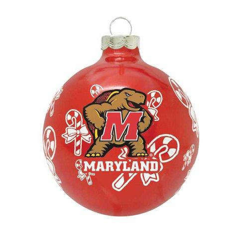 NCAA Maryland Terrapins Traditional 2 5/8″ Ornament