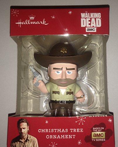 2015 Hallmark Walking Dead Rick Grimes Christmas Tree Ornament
