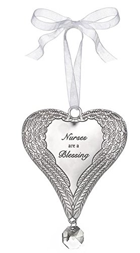 Ganz Angel Wing Ornament – Nurses Are a Blessing