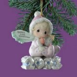 2003 Precious Moments Baby's First Christmas girl