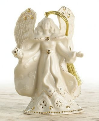"Lenox ""Florentine and Pearl"" Exclusive Angel Ornament"