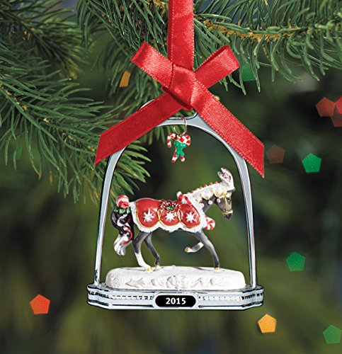Breyer Peppermint Kiss Stirrup Ornament Doll