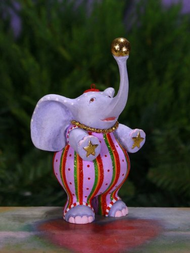 Patience Brewster Anika Elephant Ornament 08-30910