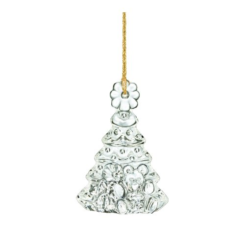 Marquis by Waterford Tree with Presents Ornament, Clear