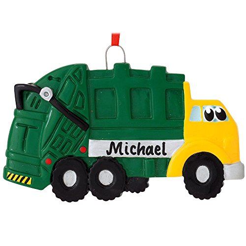 Garbage Truck Ornament