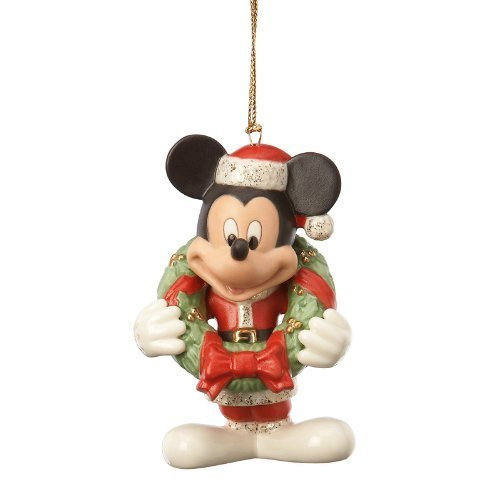 Lenox Disney Showcase Merry Mickey Mouse Christmas Ornament