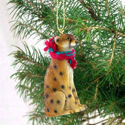 Conversation Concepts Cheetah Original Ornament