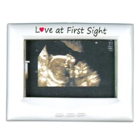Love at First Sight Picture Frame Ornament