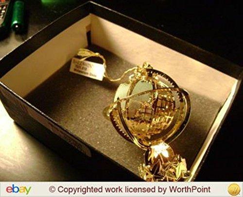 Baldwin Brass Christmas Ornament Millenium Globe