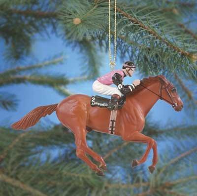 Breyer 2006 Affirmed Racehorse Ornament