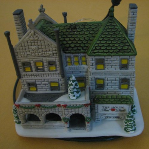 Department 56 the First House That Love Built Ronald Mcdonald 25 Years Classic Ornament Series