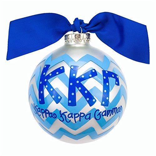 Kappa Kappa Gamma Chevron Ornament