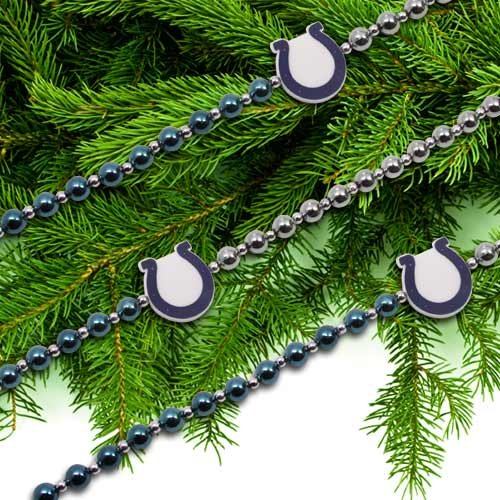 INDIANAPOLIS COLTS OFFICIAL 72″ TEAM LOGO CHRISTMAS GARLAND