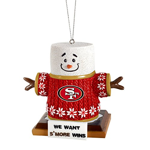 2015 NFL Football Team Logo Smores Holiday Tree Ornament – Pick Team (San Francisco 49ers)