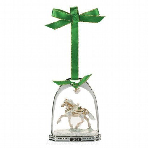 Noelle Holiday Horse Stirrup Ornament – 10th in Series for 2008