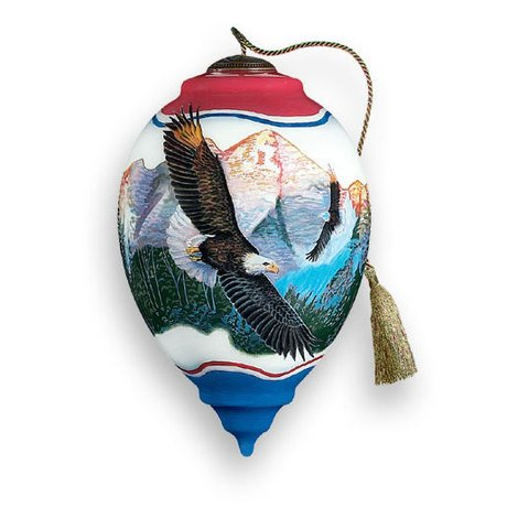 Ne'Qwa Ne'Qwa – Eagle – Hand-Painted Ornament Decoration Gift BB-JW-553-NQ