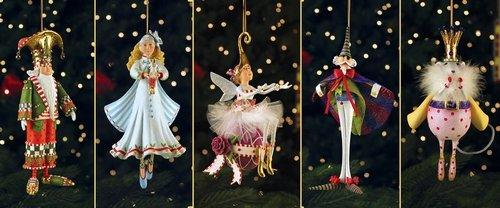 Patience Brewster Nutcracker Ornament Set