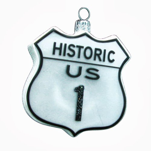 Ornaments to Remember: US HIGHWAY 1 Christmas Ornament