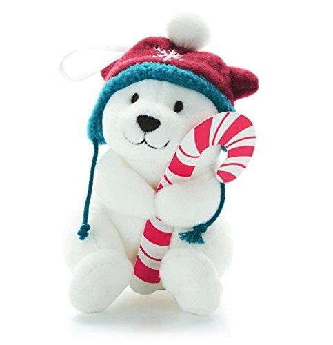 Snowby the Polar Bear Ornament and Candy Cane Holder By Hallmark