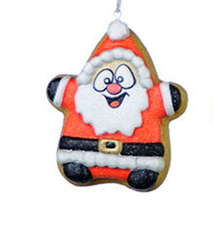 One Hundred 80 Degrees Sugar Cookie Ornament, Choice of Style (Santa)
