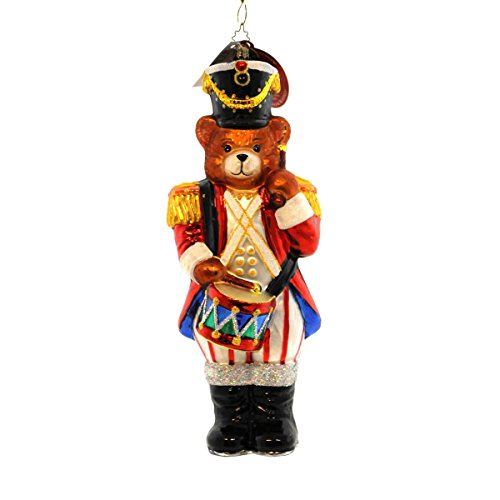Christopher Radko HONEY BRIGADIER Glass Nutcracker Christmas
