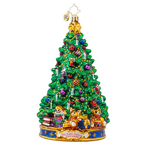 Christopher Radko Joyful Glow 'Twas the Night Before Christmas Ornament Series