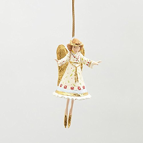 3.25″ Patience Brewster Krinkles Mini Heavenly Angel Decorative Christmas Figure Ornament