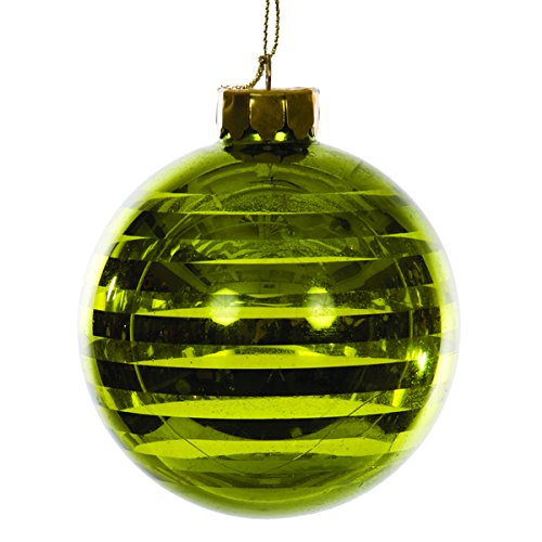 Affordable Sage & Co Sage & Co. Green Glass Hanging Christmas Ornament- Pack of 6
