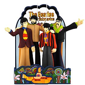 The Beatles – Yellow Submarine – Carlton Cards 2009 Christmas Ornament