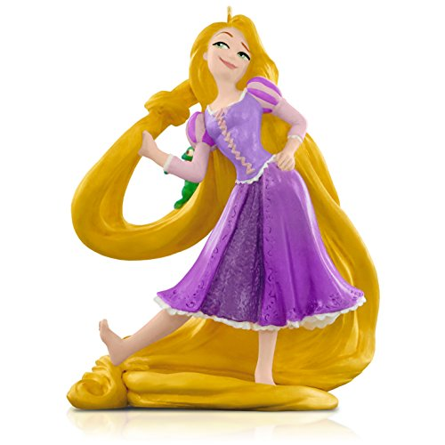 Hallmark Keepsake Ornament Disney Tangled Rapunzel and Pascal