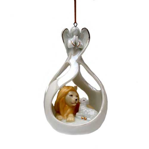 Appletree Design Eternal Peace Angel Ornament, 4-1/2-Inch Tall