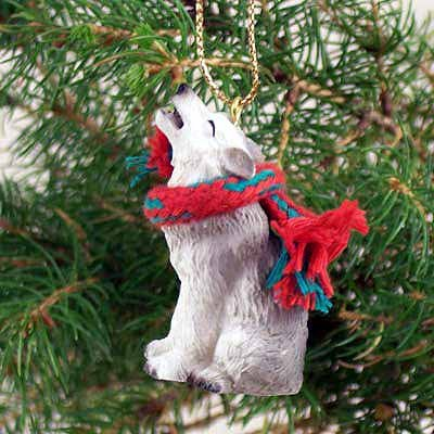 Conversation Concepts Wolf Gray Original Ornament