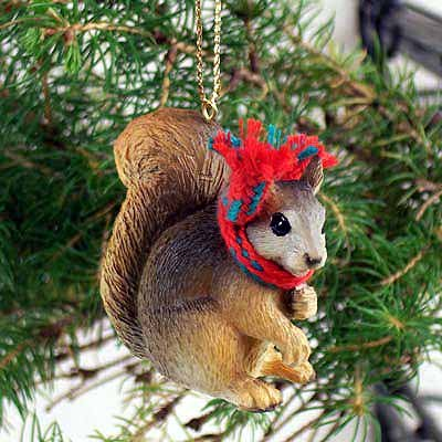 Conversation Concepts Squirrel Red Original Ornament