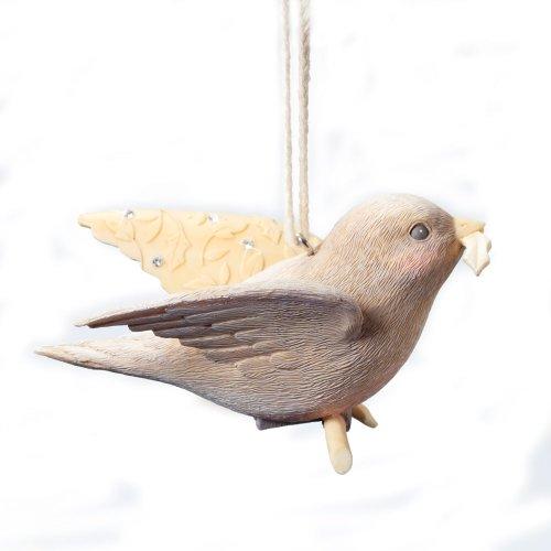 Enesco Foundations Kindness Bird Ornament, 1.77-Inch