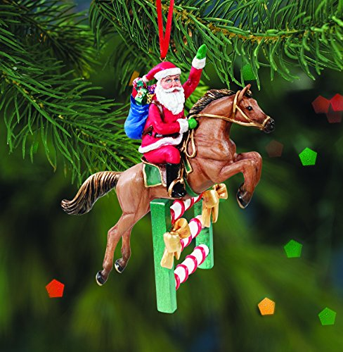 Breyer Santa's Flight Jumper Ornament