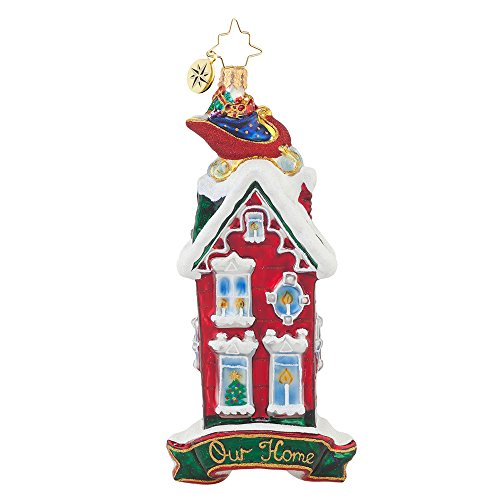 Christopher Radko Rooftop Visitor Christmas Ornament