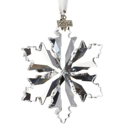 Swarovski Elements Annual Edition 2014 Crystal Snowflake Ornament Chrismas Snowflake