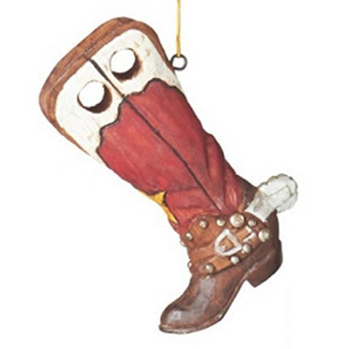 Cowboy Boot with Spur Ornament