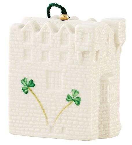 Belleek 4033 Donegal Castle Bell Ornament