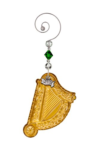Waterford 2015 Gold Harp Ornament