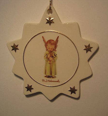 Hummel 'Little Angel' Christmas Ornament, B550