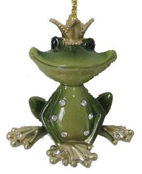 December Diamonds Frog Prince Ornament