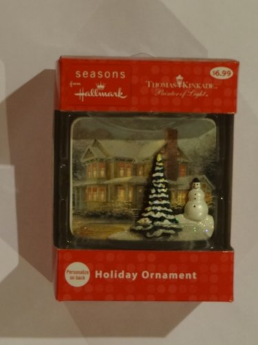 Hallmark Thomas Kinkade Painter of Light Holiday Ornament – Victorian Christmas III 2012