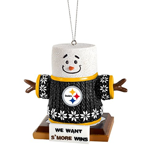 2015 NFL Football Team Logo Smores Holiday Tree Ornament – Pick Team (Pittsburgh Steelers)
