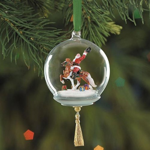 Breyer Hats Off to the Holidays Glass Globe Ornament 2005